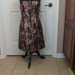 Nicole Miller Dresses - NWT Nicole Miller brocade lace multi color dress,6